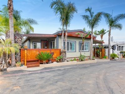 Carlsbad Mobile/Manufactured For Sale: 6550 Ponto Drive #143