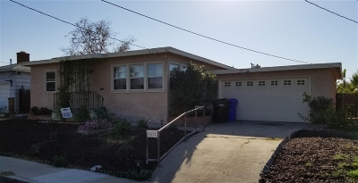 San Diego Single Family Home For Sale: 4838 Atlanta Dr