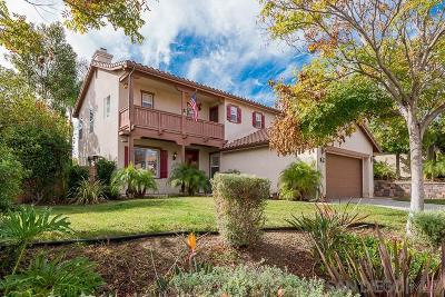 Chula Vista Single Family Home For Sale: 1242 Poplar Springs