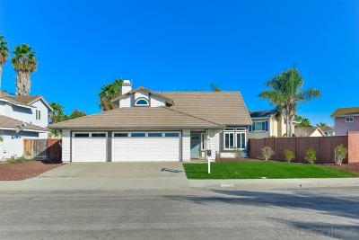 Oceanside Single Family Home For Sale: 4510 Pebble Beach Dr