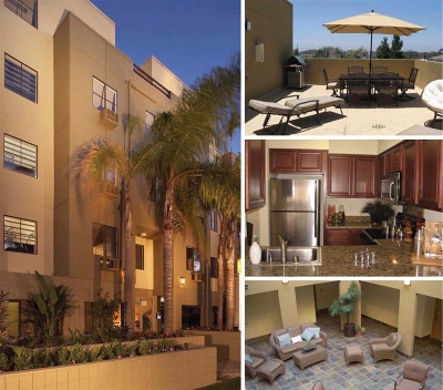 San Diego Attached For Sale: 4077 3rd Ave #204
