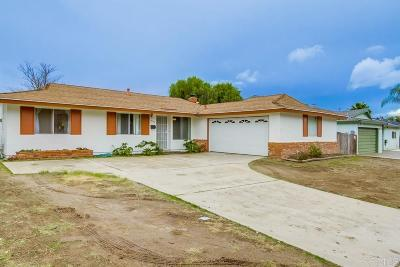 Santee Single Family Home For Sale: 9775 Mast Blvd