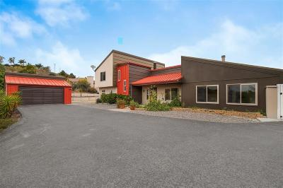 Fallbrook Single Family Home For Sale: 3240 Skycrest Dr