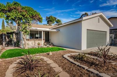 San Diego Single Family Home For Sale: 2205 Swan St