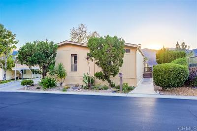 Escondido Mobile/Manufactured For Sale: 8975 Lawrence Welk Dr. #238
