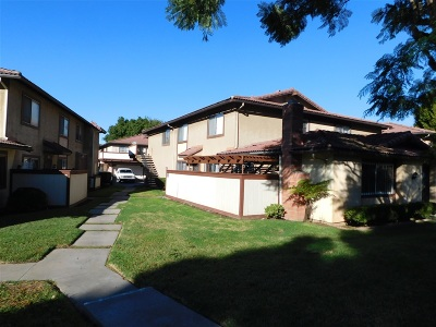 San Diego County Attached For Sale: 1540 Terrace Pine Ln #D