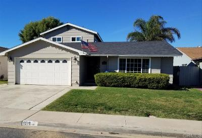 San Diego Single Family Home For Sale: 1570 Arequipa St