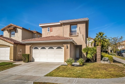 Chula Vista Single Family Home For Sale: 1655 Deer Peak