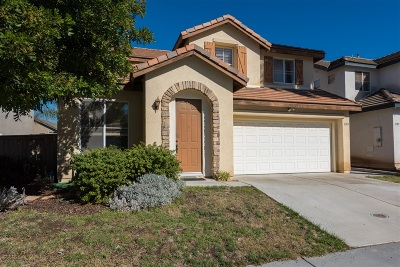 Chula Vista Single Family Home For Sale: 1385 Vllejo Mills St.