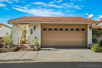 San Diego Single Family Home For Sale: 6154 Caminito Pan