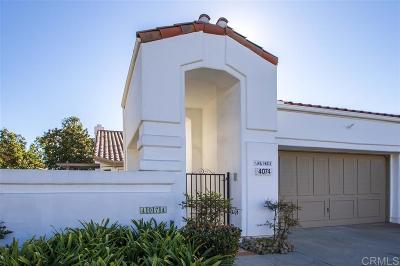 Oceanside Attached For Sale: 4074 Arcadia Way