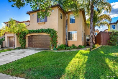 San Marcos CA Single Family Home For Sale: $730,000