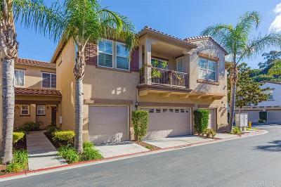 San Diego County Attached For Sale: 6289 Avenida De Las Vistas #4