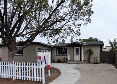 Escondido Single Family Home For Sale: 620 N N Elm St