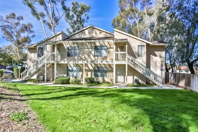 San Diego County Attached For Sale: 231 Diamond Wy. #106