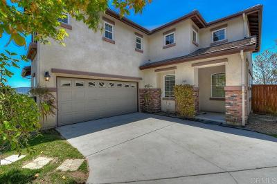 San Marcos CA Single Family Home For Sale: $829,000