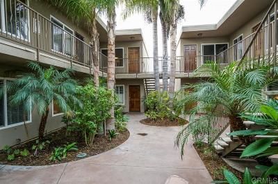 Talmadge, Talmadge/College Area Attached For Sale: 4424 Altadena Ave #12