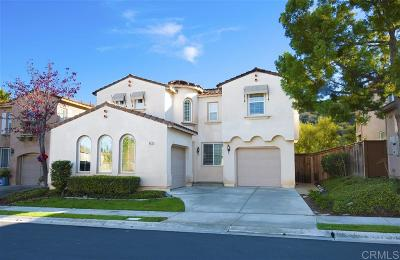 San Marcos CA Single Family Home For Sale: $645,000