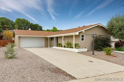 Single Family Home For Sale: 12027 Callado Rd