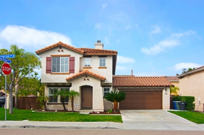Chula Vista Single Family Home For Sale: 2601 Rockhouse Trail Lane