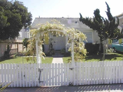 Pacific Beach Rental For Rent: 1743 Reed Ave.