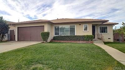 Chula Vista Single Family Home For Sale: 194 Corte Helena Ave