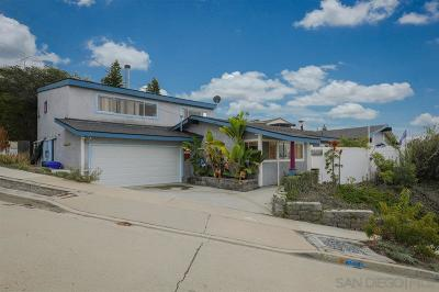 La Jolla Single Family Home For Sale: 2331 Bahia Dr.
