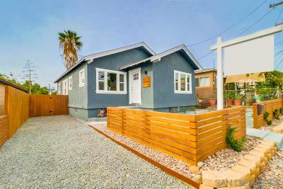 San Diego Single Family Home For Sale: 2642 Snowdrop Street