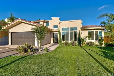 Carlsbad Single Family Home For Sale: 4394 Yuki Lane