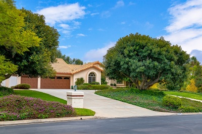 Poway Single Family Home For Sale: 15501 Harrow Ln