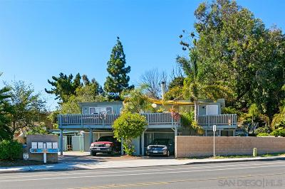 Solana Beach Multi Family 2-4 For Sale: 855/857 Stevens Avenue