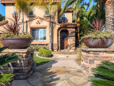 Oceanside Single Family Home For Sale: 1100 Greenway Rd