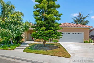 Oceanside Single Family Home For Sale: 3904 Cadena Drive