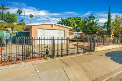 San Diego CA Single Family Home For Sale: $409,900