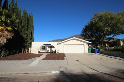 Single Family Home For Sale: 2461 Trace Rd
