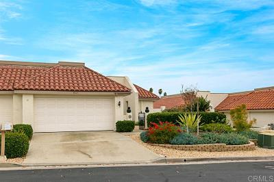 San Diego County Attached For Sale: 4217 Dawn Lane