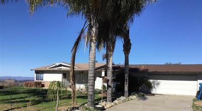 Valley Center Single Family Home For Sale