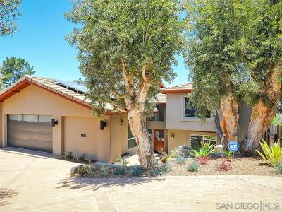 San Diego Single Family Home For Sale: 6429 Ridge Manor