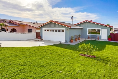 Single Family Home For Sale: 738 Paraiso Ave