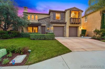 San Marcos CA Single Family Home For Sale: $849,888