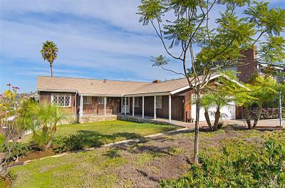 Single Family Home For Sale: 9248 Hillside Drive