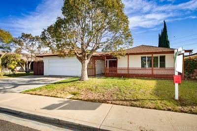 Single Family Home For Sale: 1277 Nacion Ave