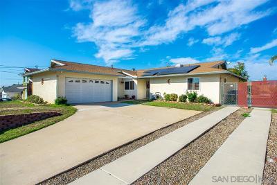 Single Family Home For Sale: 377 Nova Pl