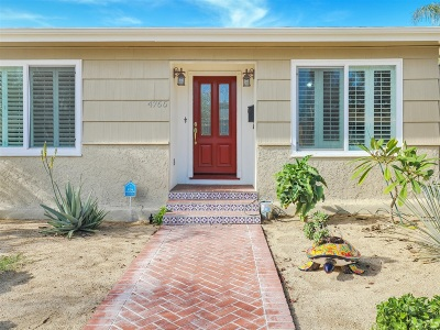 San Diego Single Family Home For Sale: 4766 49th Street