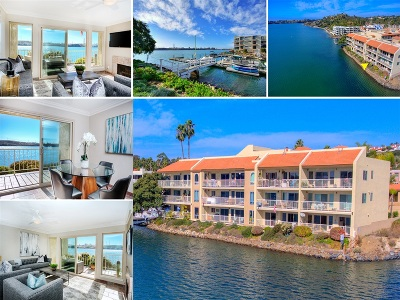 Carlsbad Attached For Sale: 4747 Marina Dr #3