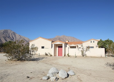 Borrego Springs CA Single Family Home For Sale: $459,000