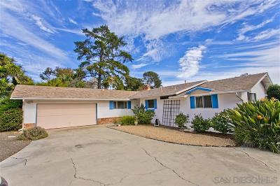 La Jolla Single Family Home For Sale: 6317 La Pintura Dr