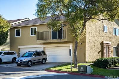 San Diego CA Townhouse For Sale: $350,000