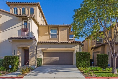 San Diego Townhouse For Sale: 2735 Matera Ln