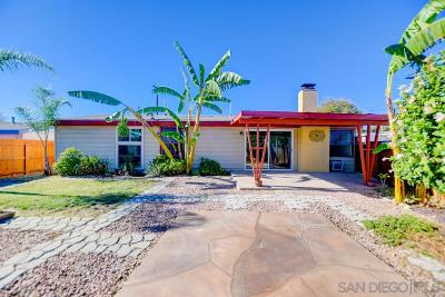 San Diego Single Family Home For Sale: 3493 Angwin